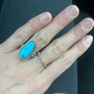 Child of wild turquoise ring